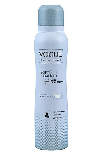Vogue Soft And Smooth Deodorant Spray Anti-Transpirant 150 ML
