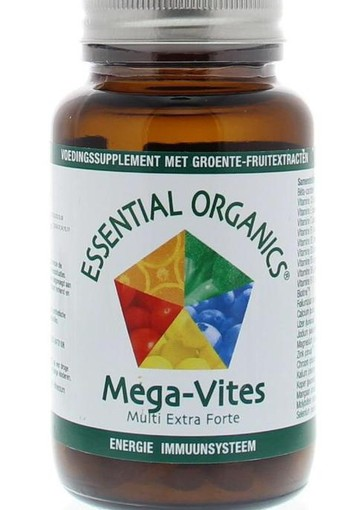 Essential Organ Mega vites (75 tabletten)