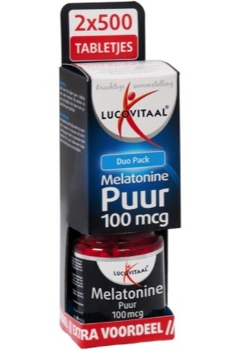 Lucovitaal Melatonine Duo 2x500t
