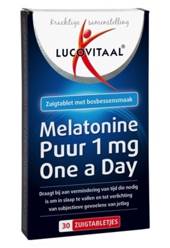 Lucovitaal Melatonine 1 Mg 30zt