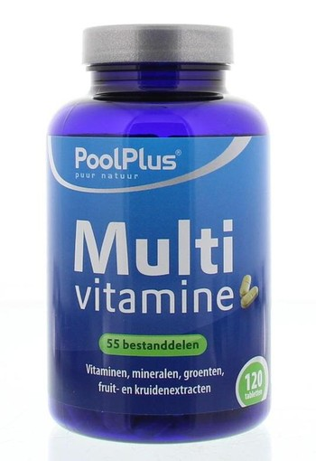 Pool Plus Multivitaminen tablet (120 tabletten)