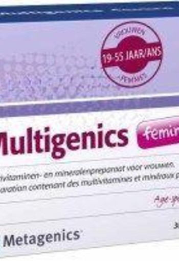 Metagenics Multigenics femina (30 sachets)