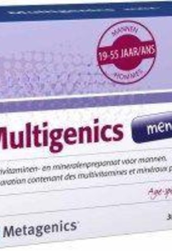 Metagenics Multigenics men (30 sachets)