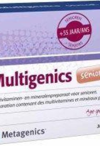 Metagenics Multigenics senior (30 sachets)