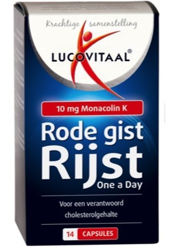 Lucovitaal Rode Gist Rijst 14tb