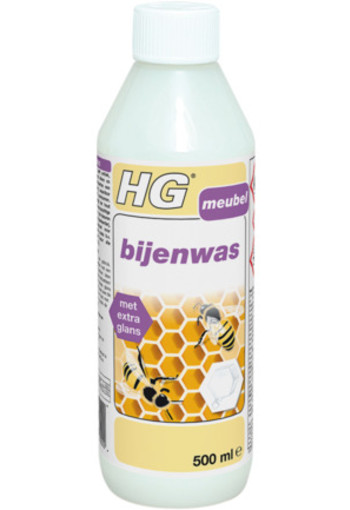 Hg Bijenwas Transparant Wit 500ml
