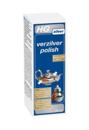 Hg Verzilverpolish 50ml