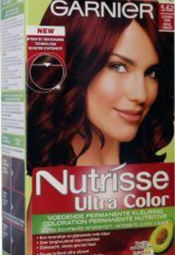 Garnier Nutrisse ultra color 5.62 levendig rood (1 set)