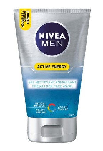 Nivea Men face wash active energy (100 ml)