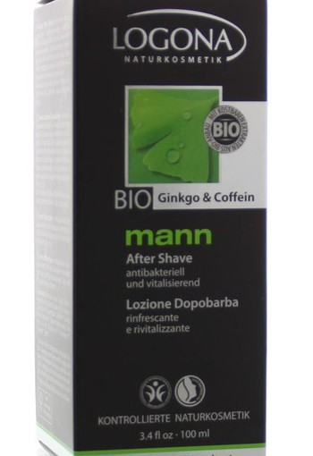 Logona Mann aftershave (100 ml)