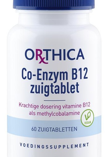 Orthica Co enzym B12 (60 zuigtabletten)