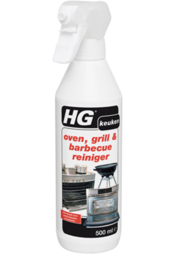 Hg Oven Grill En Barbecue Reinigingspray 500ml