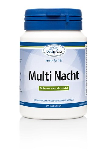 Vitakruid Multi nacht (30 tabletten)