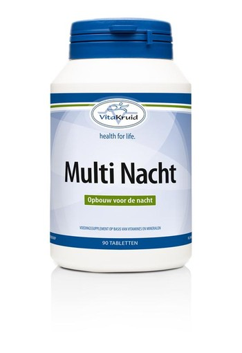 Vitakruid Multi nacht (90 tabletten)