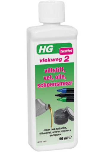 Hg Vlekweg Nr 2 Viltstift Sticker Etc 50ml