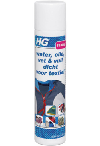 Hg Water Olie Vuil Textiel Spray 300ml