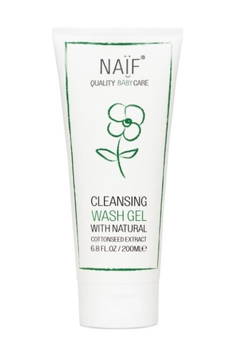 Naif Baby Cleansing Wash Gel 200ml