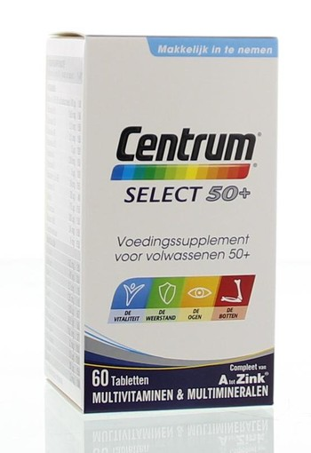 Centrum Select 50+ advanced (60 tabletten)