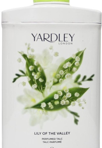 Yardley Lily talc tin (200 gram)