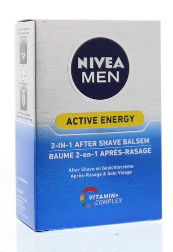 Nivea Men aftershave active energy 2in1 (100 ml)