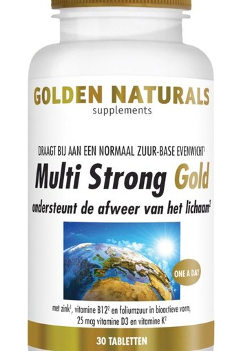 Golden Naturals Multi strong gold (60 vcaps)