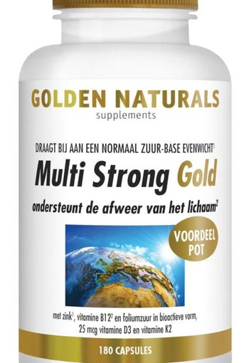 Golden Naturals Multi strong gold (180 vcaps)