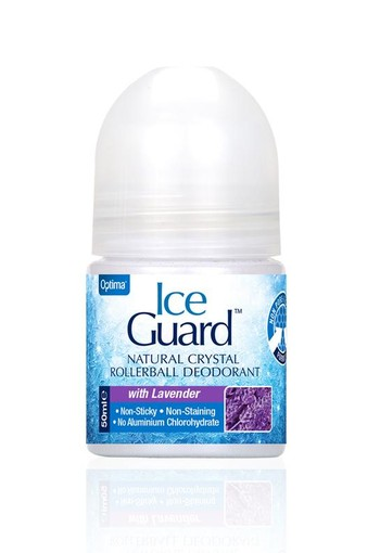 Optima Ice guard deodorant roll on lavendel (50 ml)