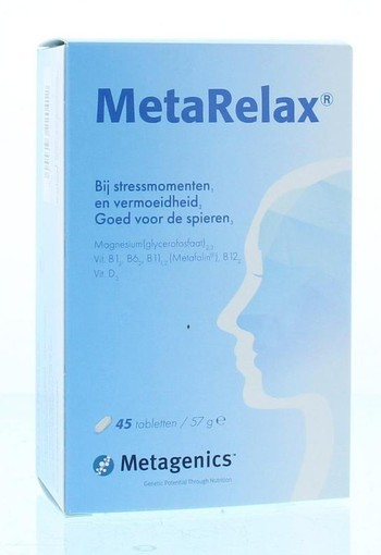 Metagenics Metarelax (45 tabletten)
