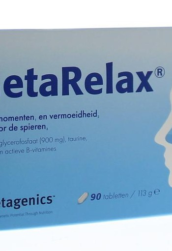 Metagenics Metarelax (90 tabletten)