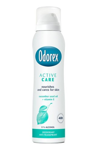 Odorex Body heat responsive spray active care (150 ml)