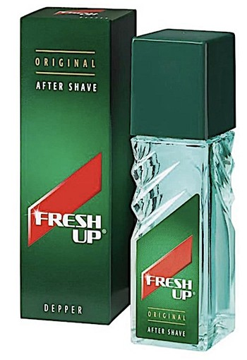 Fresh Up Original Depper for Men - 100 ml - Aftershave lotion
