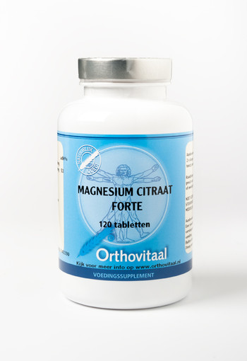 Orthovitaal Magnesium citraat forte (120 tabletten)