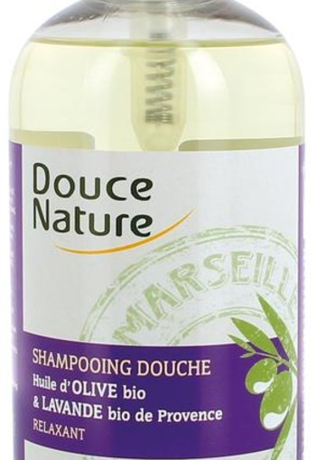 Douce Nature Douchegel & shampoo lavendel (500 ml)