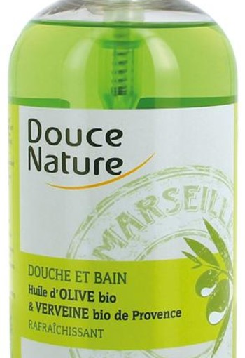 Douce Nature Badschuim & douchegel ijzerkruid verbene (500 ml)