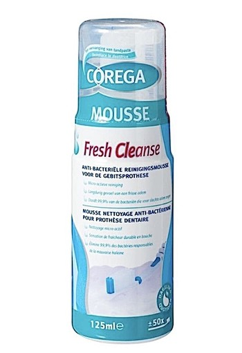 Corega Fresh Cleanse Reinigingsmousse 125ml
