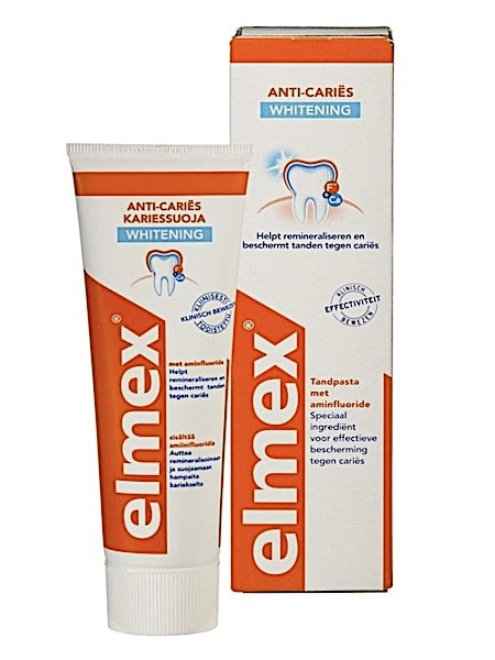 Elmex Anti-Cariës Whitening Tandpasta 75ml