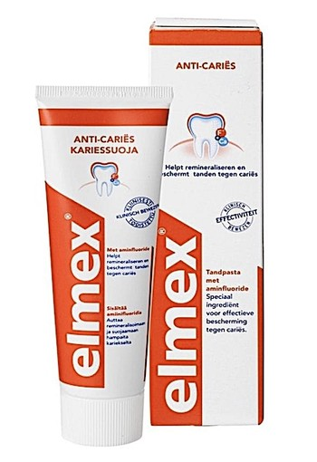Elmex Anti-Cariës Tandpasta 75ml