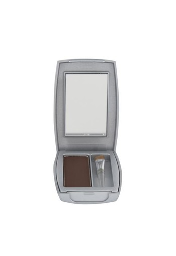 Herome Compact powder nearly black (1 stuks)