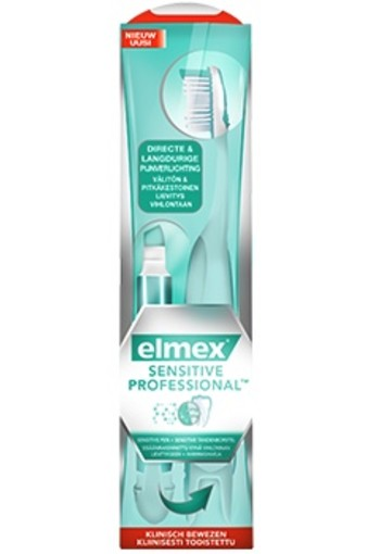 Elmex Sensitive Pen + Sensitive Tandenborstel