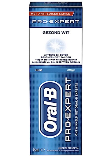 Oral-B Gezond Wit - 75ml - Tandpasta oral b