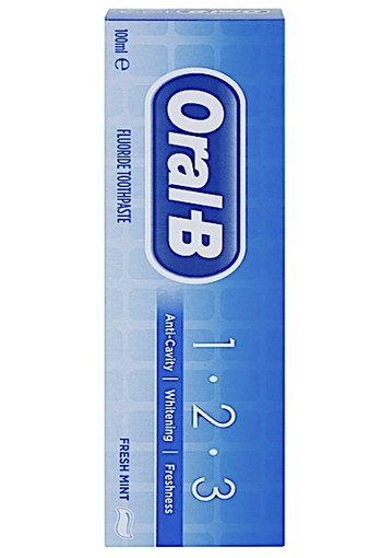 Oral-B 1-2-3 Fresh Mint oral b 75 ml - Tandpasta