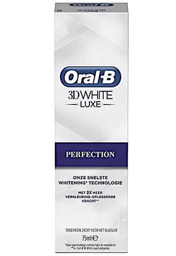 Oral-B 3D White Luxe Perfection oral b- 75ml