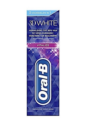 Oral-B Tandpasta 75 ml 3D White Vitalize oral b