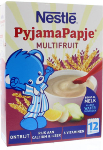 Nestle Pyjamapapje Multifruit 250g