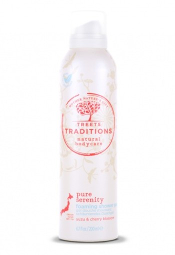 Treets Pure serenity foam showergel (200 ml)
