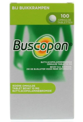 Buscopan Buscopan 10 mg (100 tabletten)