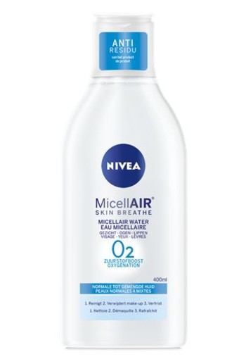 Nivea Visage micellair water 3 in 1 normale huid (400 ml)