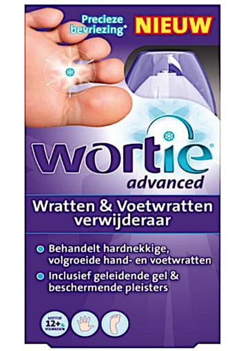 Wortie wrattenverw.advanced -50 ml