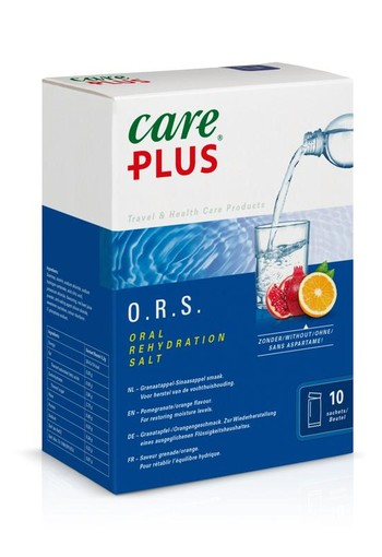 Care Plus ORS granaatappel sinaasappel (10 stuks)