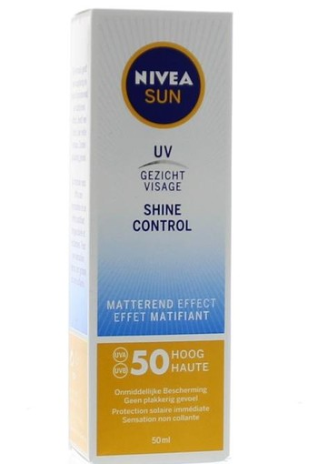 Nivea Sun face shine control SPF50 (50 ml)